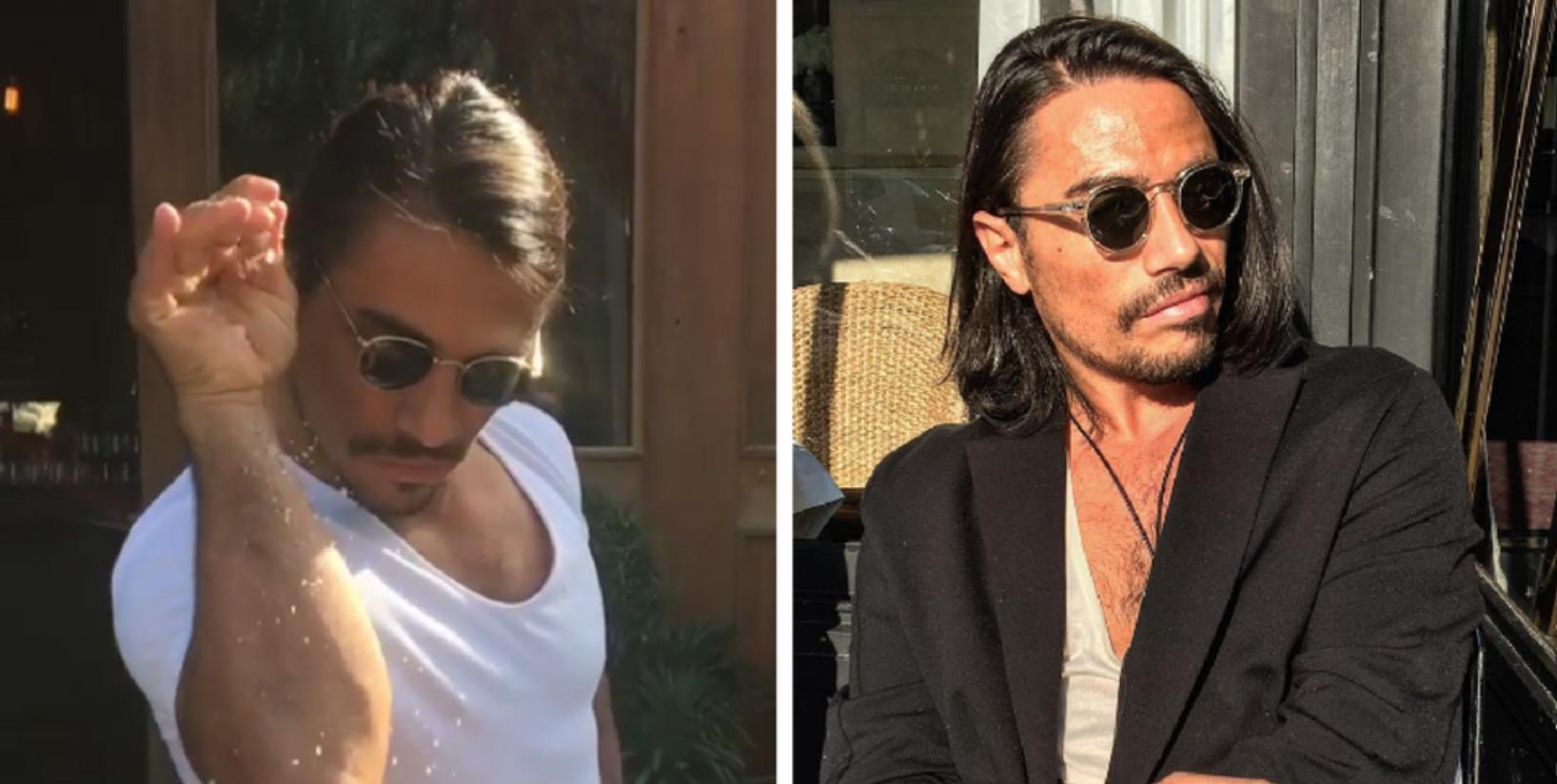 What Sunglasses Does Salt Bae Wear In His Instagram Videos?