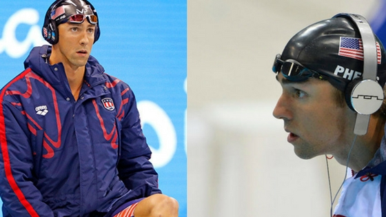 What Headphones Does Swimmer Michael Phelps Use?