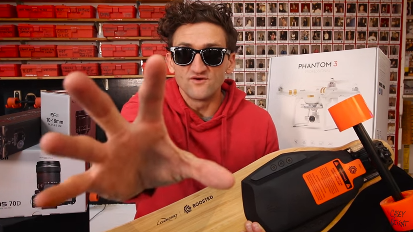 What Skateboard Does Casey Neistat Use?